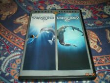 Dolphin Tale and Dolphin Tale 2 Dvd Disc Set Ashley Judd Morgan Freeman Like New