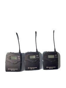Sennheiser SK100 G3-GB Bodypack Wireless Mic Transmitter EW100