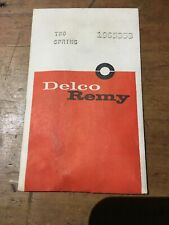 Delco Remy Springs P/N 1965353 Vintage Car Truck
