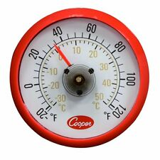 Cooper Atkins Cooler/Refrigerator Thermometer Magnetic Back Free Ship Us Only