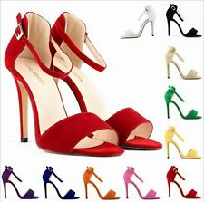 Women's Charm Fine Patent Leather Toe High Heels Fine with classic Hasp Sandals
