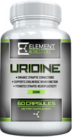 URIDINE MONOPHOSPHATE (300mg x 60 ct) by Element Nutraceuticals