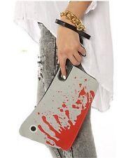 Halloween Damen Handtasche Tasche Messer Beil Clutch Party Deko Horror Blut