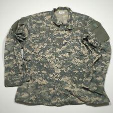 US Military ACU ARMY Digital Camo Fatigue Combat Jacket Shirt Medium Regular