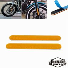 1Pair Motorcycle Front Fork Leg Reflector Reflective Sticker For All Bikes Cars