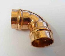 15mm RAME Saldato Anello gomiti x 10 raccordi tubazione