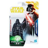 Star Wars The Empire Strikes Back Darth Vader Action Figure - Force Link 2.0 NEW
