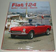 Bildband Fiat 124 Spider - Coupe - Abarth Julien Lombard Emilio Agiato Buch NEU!