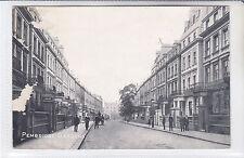 RARE VINTAGE 1913 POSTCARD PEMBRIDGE GARDENS, NOTTING HILL, LONDON W2