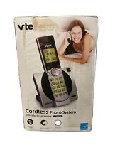 VTech Cordless Phone System w/ Caller ID Call Waiting DECT 6.0 Silver (CS6919)™