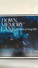 Down Memory Lane 65 Years of Song Hits Reader's Digest with Book 10 LP Set lp49