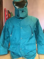 VINTAGE LL BEAN MAINE WARDENS PARKA GORETEX JACKET GREEN LARGE MADE IN USA