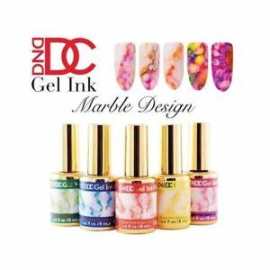 DND DC Gel Ink Marble Design LED/UV 0.6oz 18ml - PICK YOUR COLOR.