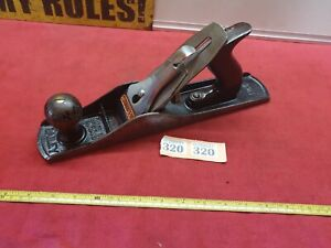 Vintage Stanley No 5 Smoothing Plane in Good Used Condition Smooth Patina