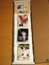 1991 Upper Deck  Baseball  700 Card Set -  Michael Jordan SP1 + Nolan Ryan Heroe