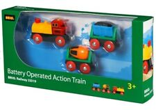 BRIO 33319 Battery Operated Action Train kids toys. Brand new. Free Post