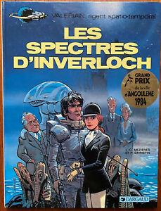 VALÉRIAN T 11 Les Spectres d'Inverloch 1984 Christin Mézières EO 1ère édition