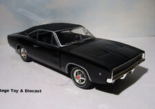 ~ Steve McQueen / Bullitt 1968 Dodge Charger - 1:18 Greenlight Movie car diecast