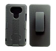 LG G5 SLIM SHELL HOLSTER BELT CLIP COMBO CASE WITH KICKSTAND NEW PHONE COVER