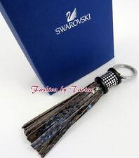 New in Box AUTHENTIC Swarovski # 5039236 Tayla Reptile Brown Key Ring