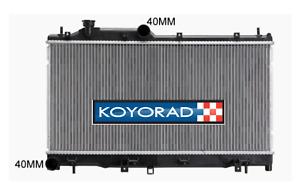 Radiator for Subaru XV 2012-2017 Auto CVT Gear box Manual Non-Turbo Koyo New