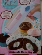 NEW Girl Gourmet ultimate cupcake cake decor set icing deco