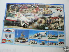 LEGO BROCHURE FLYER CATALOG TOYS 1992 TRUCK DUTCH 2 PAGES 100