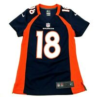Nike Peyton Manning Denver Broncos Football Jersey Size Extra Small XS Blue NFL