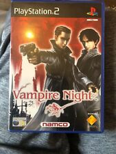 Vampire Night Sony Playstation 2 PS2 15+ Shooter FPS Game