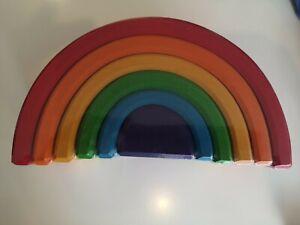 Grimm's Regenbogen 6 Teile mittelgrosser Regenbogen 10700
