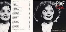 CD 22T EDITH PIAF PADAM...PADAM BEST OF 1993