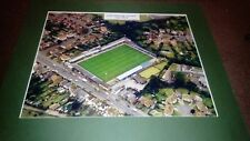 """COLCHESTER UNITED LAYER ROAD MOUNTED AERIAL PHOTOGRAPH 18X15"""""""
