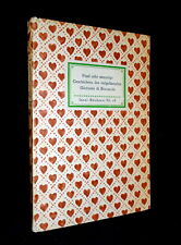Insel- Bücherei IB 16 [1A] – Boccaccio · Fünf sehr anmutige Geschichten – 1939