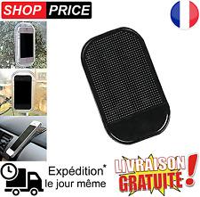 Support Tapis Noir Antidérapant Tableau De Bord Voiture Pour Smartphone, GPS