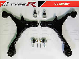 FOR HONDA CIVIC 2.0 TYPE R EP3 LOWER WISHBONE ARMS BALL JOINTS TRACK ROD ENDS
