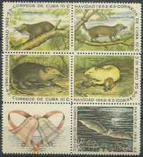 Timbres Animaux 652/6 ** lot 23493 - cote : 22,50 €
