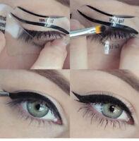 1  maquillage-Pochoirs Cosmetique-Palette-Fard-a-Paupieres-pochoir-eyeliner-Line