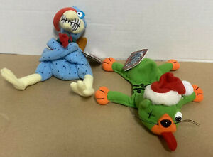 Meanies Lot 2 Shocking Stuffers Splat In The Hat And Cold Turkey W/Tags Funny