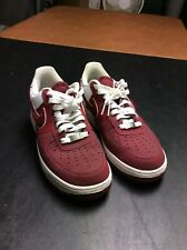 new concept 20a6b 73133 Mens Nike Air Force 1  82 Red White Shoes Size 8 (488298-606