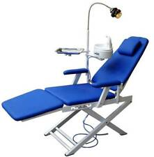 CE Dental Unit Medical Portable Mobile Chair LED Cold Light Full Folding Chair