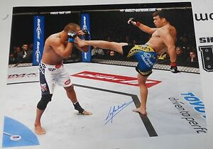 Lyoto Machida Signed UFC 157 16x20 Photo PSA/DNA COA Autograph Picture Poster 98