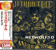 Jethro Tull - Stand Up - CD - Remastered - Japan with OBI - Sealed