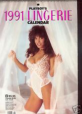 Playboy US        Lingerie  Calendar  1991