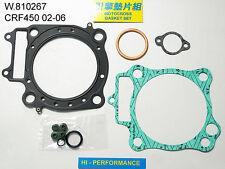Pochette de joints haut moteur Honda 450 CRF / X 02/06