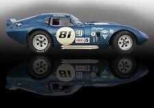 Shelby Daytona Coupe Vintage Classic Race Car Photo (CA-0856)