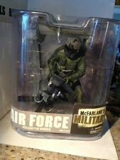 Mcfarlanes Military Air Force Helicopter Gunner With M134 Mini Gun Action Figure