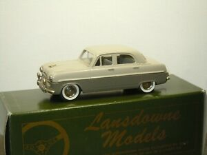 1954 Ford Zephyr Zodiac - Lansdowne Models LD7 - 1:43 in Box *52074