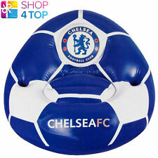 CHELSEA FC BLUE INFLATABLE CHAIR KIDS CUP HOLDER OFFICIAL FOOTBALL SOCCER NEW