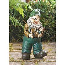 "New listing Grandpa Garden Gnome - 10 5/8"" High - Resin & Fiberglass"