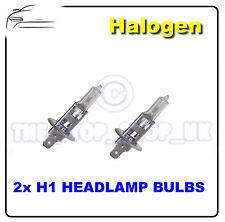 2x Reemplazo Halógeno H1 uno Pin 55w Cabeza Lámparas Bombitas